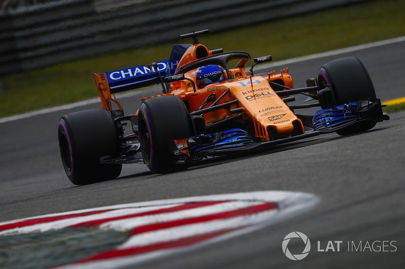 13: Fernando Alonso, McLaren MCL33 Renault, 1'33.232