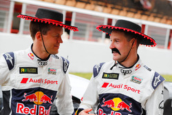 Mattias Ekström, EKS Audi Sport, Andreas Bakkerud, EKS Audi Sport