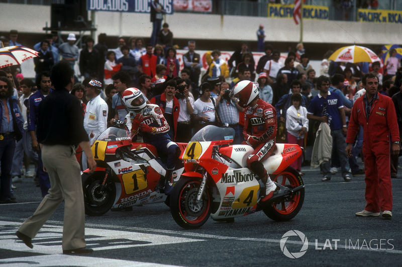 Freddie Spencer, Eddie Lawson