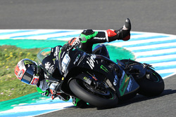 Sturz: Jonathan Rea, Kawasaki Racing