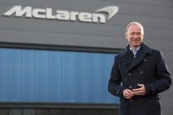 Mike Flewitt, McLaren Automotive Director Ejecutivo