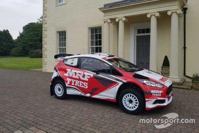 Сотрудничество MRF Tyres и M-Sport