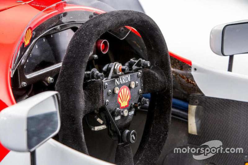 1993 McLaren-Cosworth Ford MP4/8A of Ayrton Senna, steering wheel