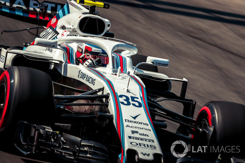 19. Sergey Sirotkin, Williams FW41 (termasuk penalti tiga grid)