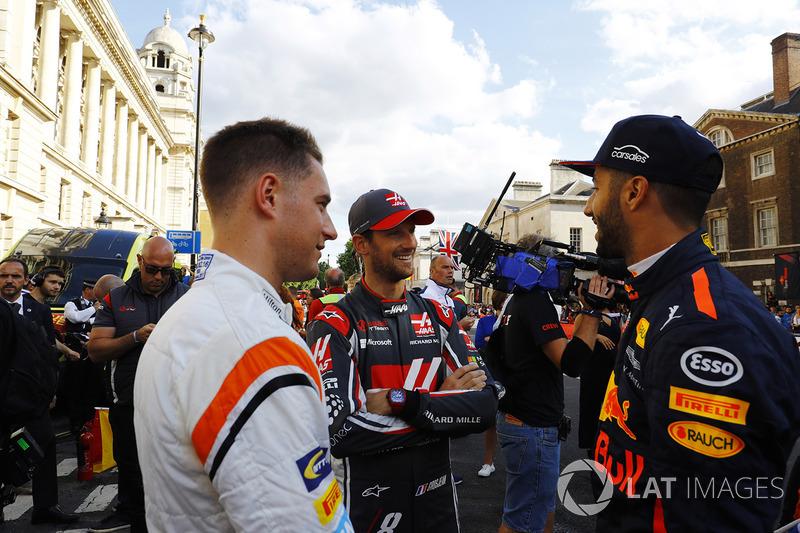 Стоффель Вандорн, McLaren, Ромен Грожан, Haas F1 Team, Даніель Ріккардо, Red Bull Racing