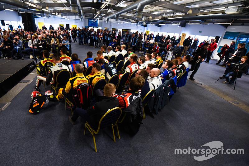 BTCC Conferencia de prensa de pilotos