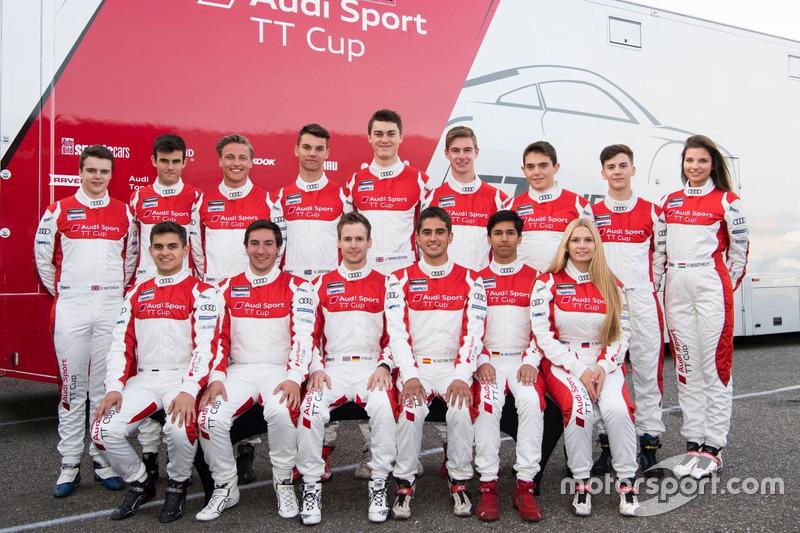 Audi TT Cup 2017 - tablókép