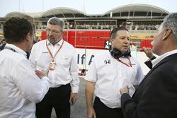 Ross Brawn, Director de Motorsports, FOM, Zak Brown, Director ejecutivo, McLaren Technology Group