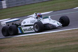 Paul di Resta,en el Williams FW08B Cosworth 1982 de 6 ruedas coche de F1