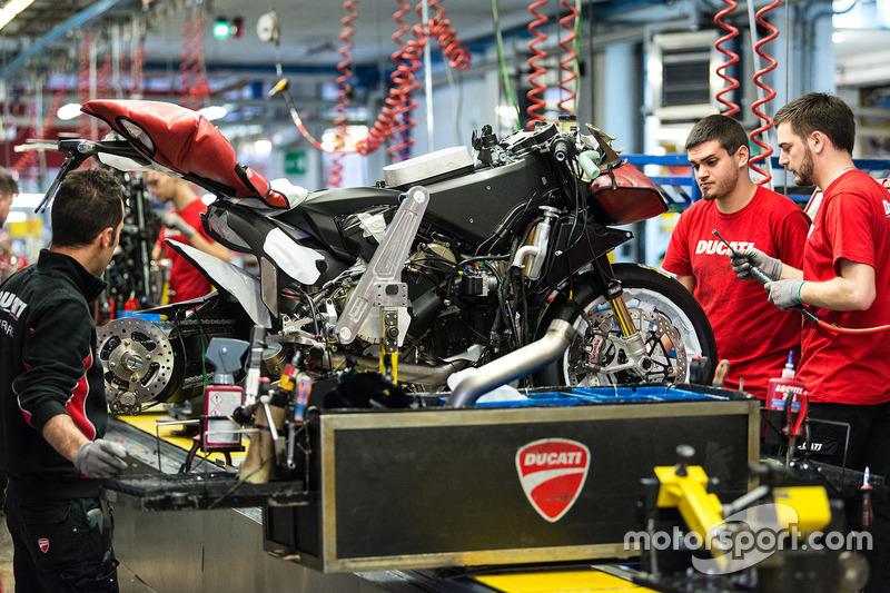 Fábrica de Ducati