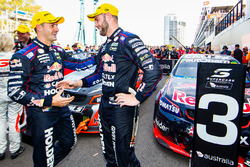 Race winner Jamie Whincup, Triple Eight Race Engineering Holden, Shane van Gisbergen, Triple Eight Race Engineering Holden