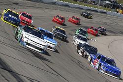 Blake Koch, Kaulig Racing Chevrolet, Brendan Gaughan, Richard Childress Racing Chevrolet