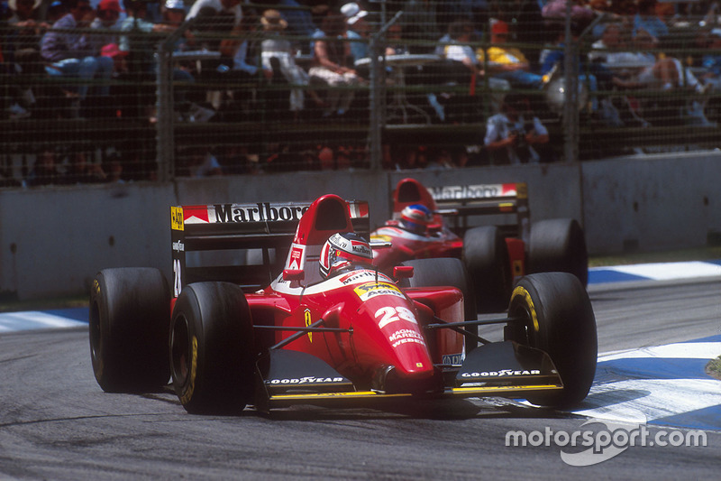 1993: Gerhard Berger, Ferrari F93A