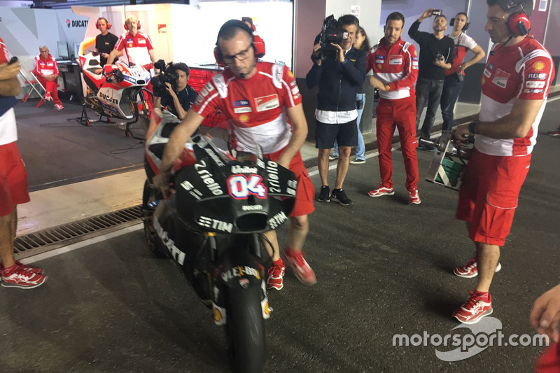 Nuevo carenado Ducati