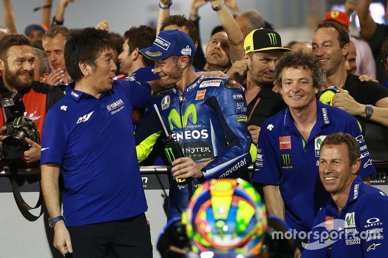 El tercero Valentino Rossi, Yamaha Factory Racing