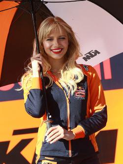 KTM grid girl