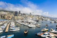 The Monaco harbour