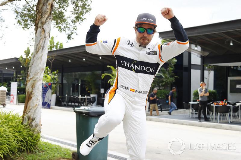 Los dos McLaren en la Q3 de Malasia