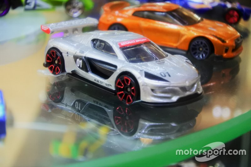 Diecast Renault Sport RS01 Hot Wheels