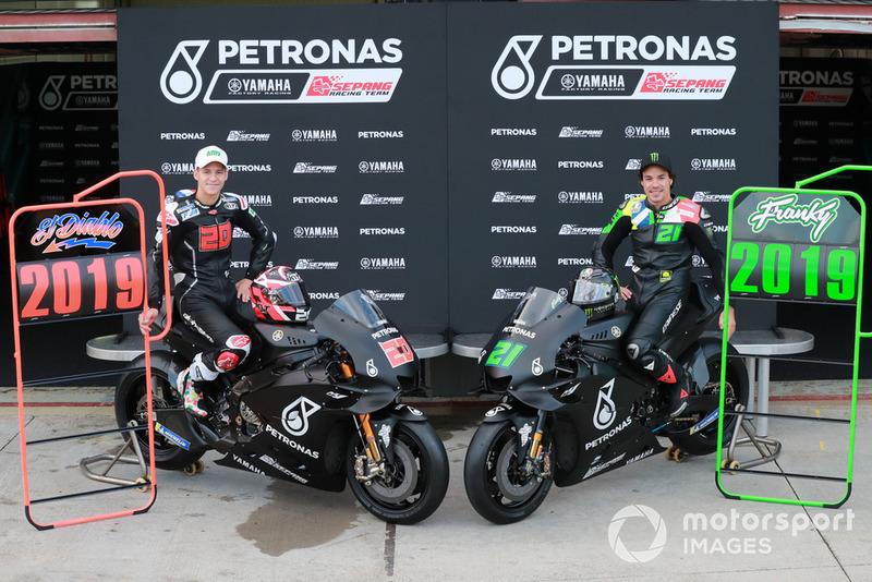 Fabio Quartararo, Petronas Yamaha SRT and Franco Morbidelli, Petronas Yamaha SRT