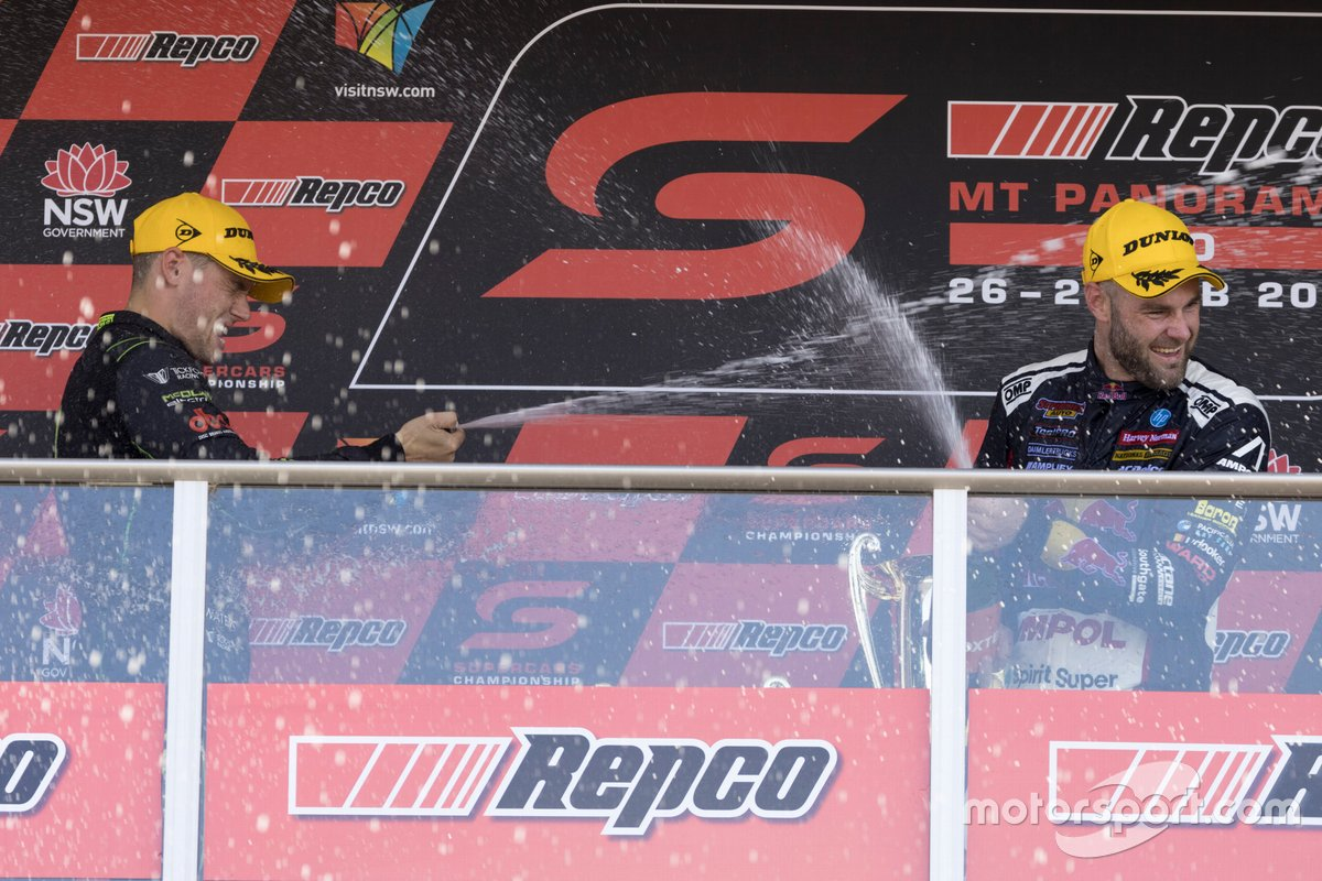 Race winner Shane van Gisbergen, Triple Eight Race Engineering