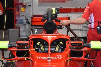 Ferrari engine cooling technical detail