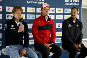 Augusto Farfus, BMW Team RMG, Jamie Green, Audi Sport Team Rosberg, Gary Paffett, Mercedes-AMG Team HWA
