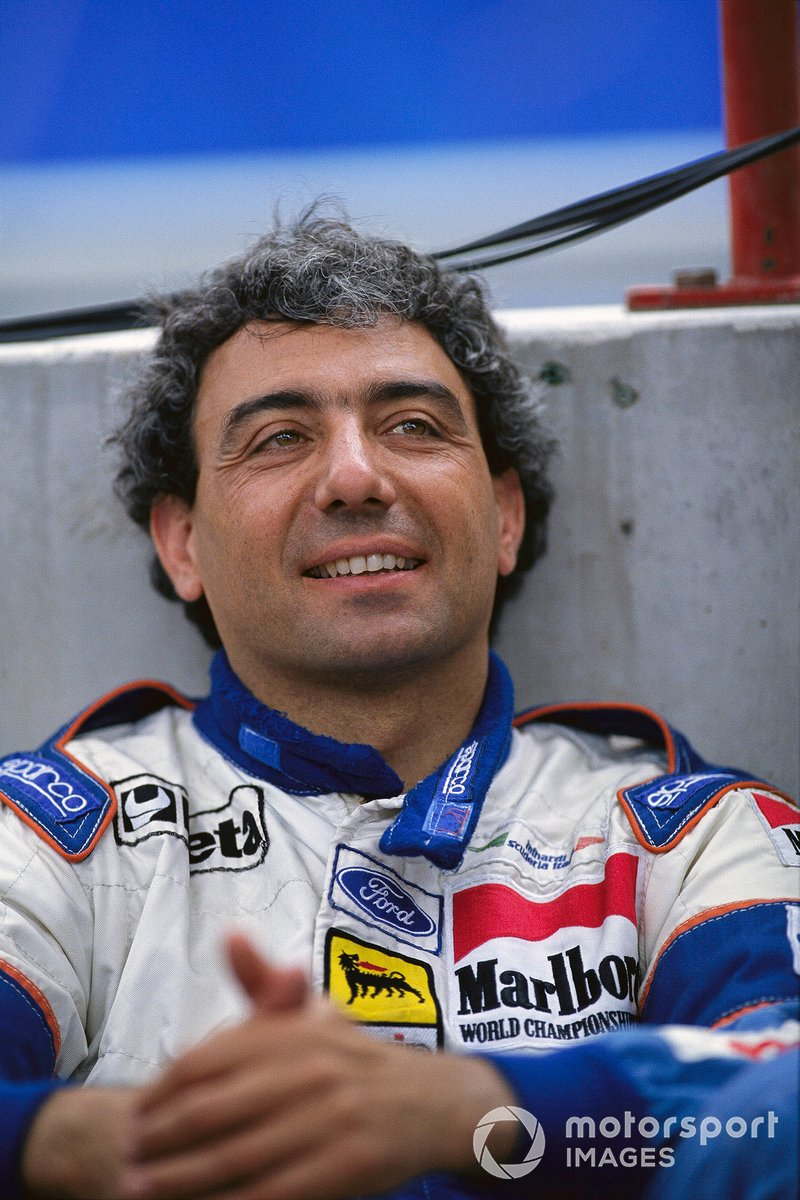 Michele Alboreto, Dec. 23, 1956 - April 25, 2001.