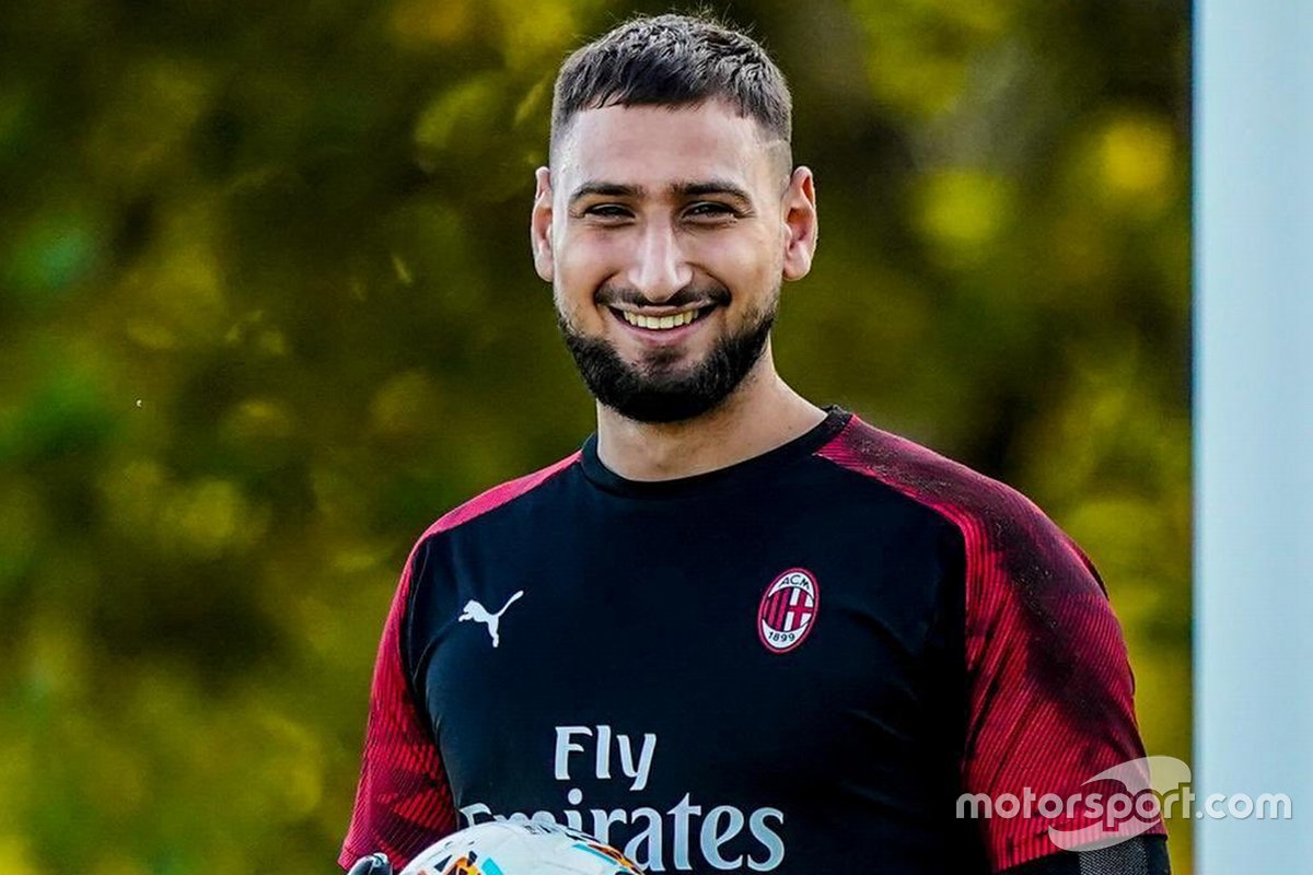 Donnarumma al Virtual GP di Baku