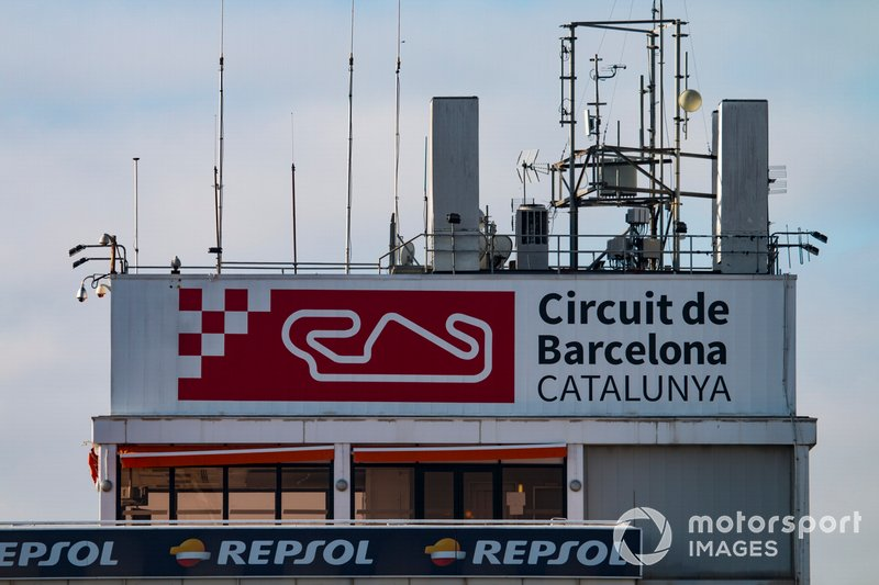 The Barcelona Circuit race control tower
