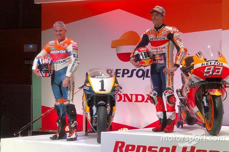 Mick Doohan, Marc Márquez, Repsol Honda Team