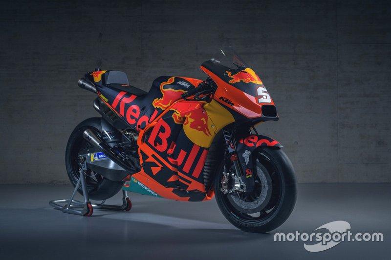 Bike von Johann Zarco, Red Bull KTM Factory Racing