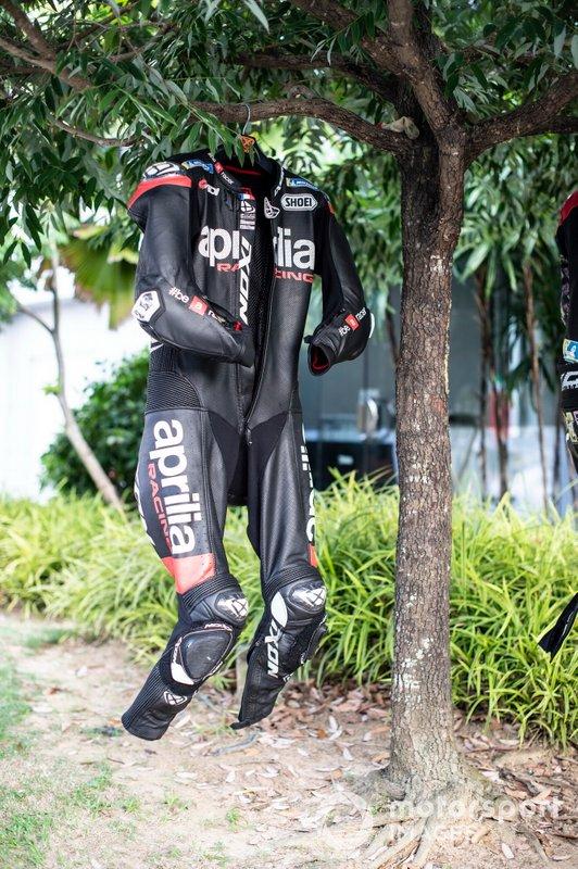 La tuta di Aleix Espargaro, Aprilia Racing Team Gresini
