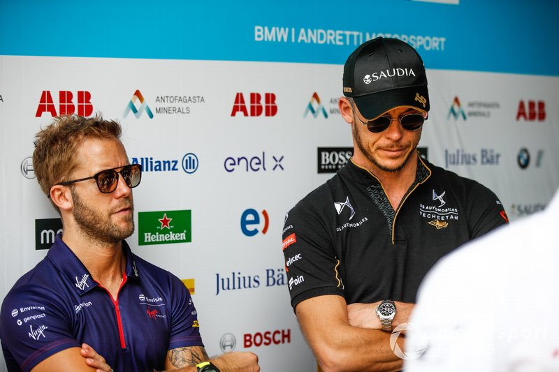 Sam Bird, Envision Virgin Racing, Andre Lotterer, DS TECHEETAH