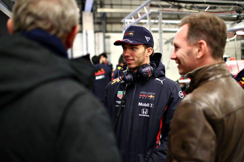П'єр Гаслі, Red Bull Racing, Крістіан Хорнер, керівник команди Red Bull Racing