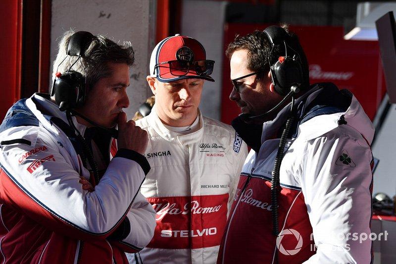 Xevi Pujolar,Alfa Romeo Racing y Kimi Raikkonen, Alfa Romeo Racing