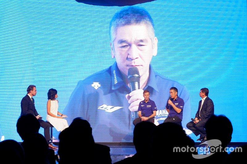 Коудзі Цуя, президент Yamaha Factory Racing