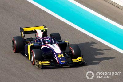 Formel-2-Test in Abu Dhabi