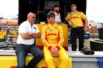 Ryan Hunter-Reay, Andretti Autosport Honda en Bobby Rahal
