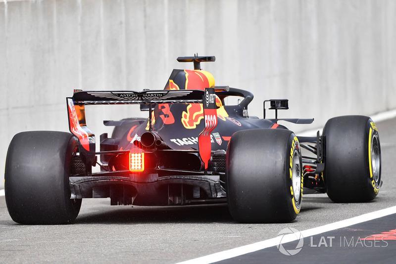 Заднее крыло Red Bull RB14