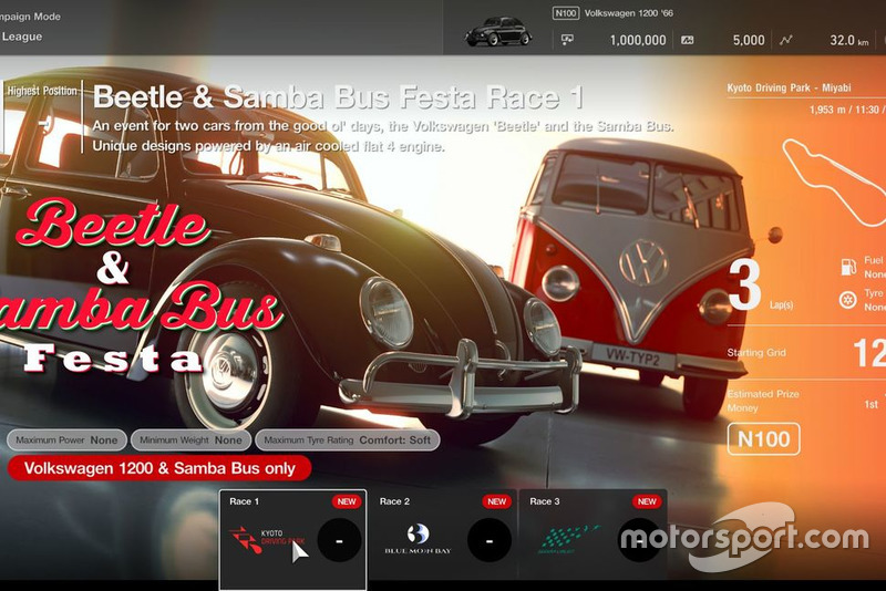 GT League: Beetle & Samba Bus Festa