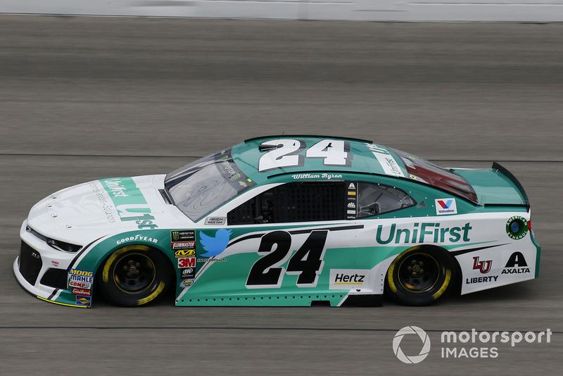 17. William Byron, Hendrick Motorsports, Chevrolet Camaro Unifirst
