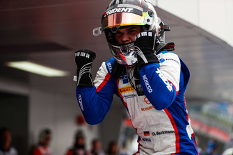 Race winner David Beckmann, Trident