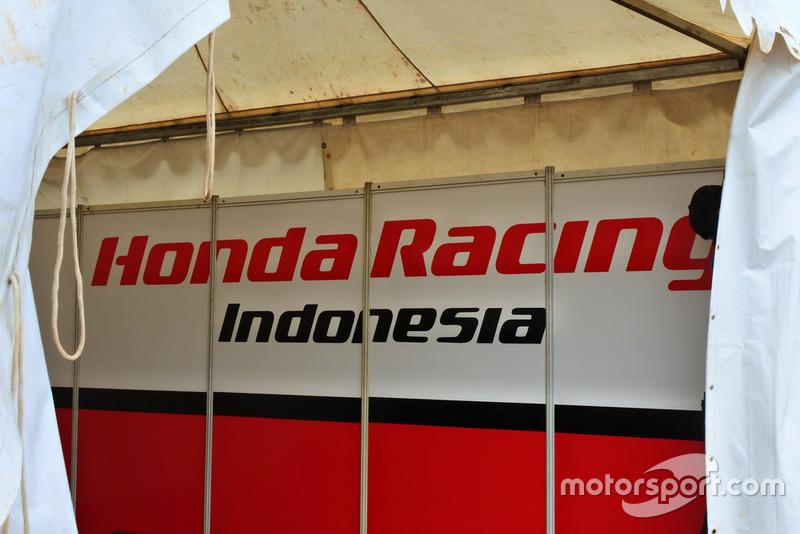Garasi Honda Racing Indonesia