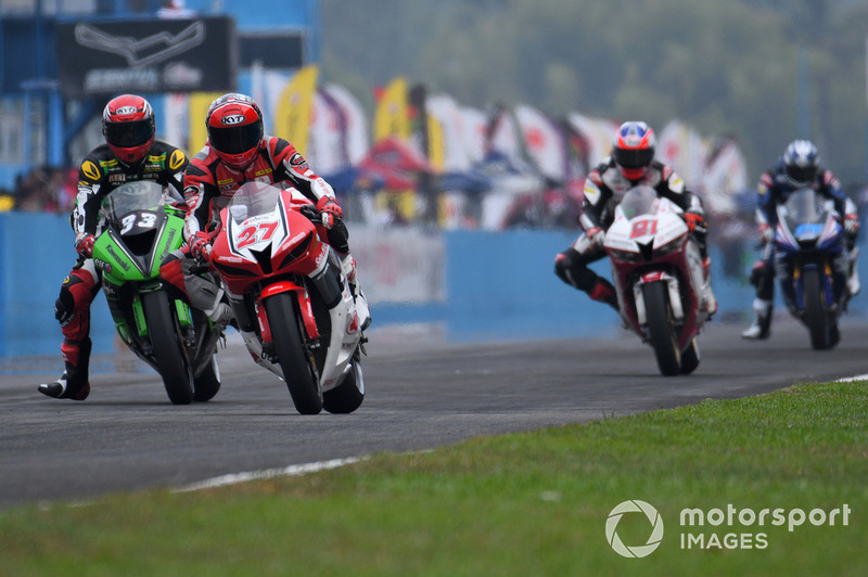 Race 2 SuperSports 600cc ARRC Sentul 2018