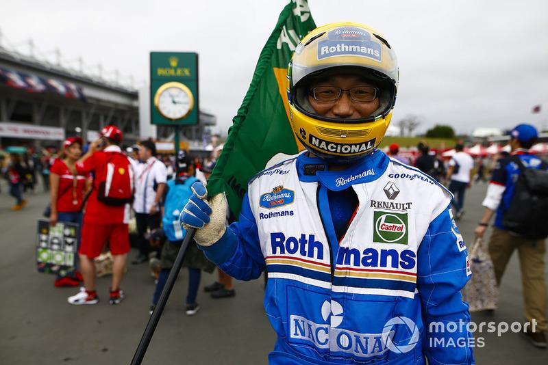 Cosplay Ayrton Senna