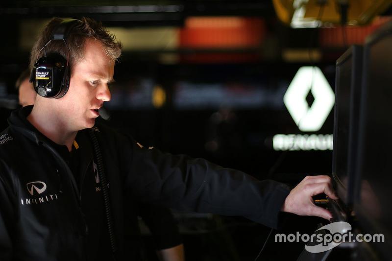 Chris Richards, Renault Sport F1 Team