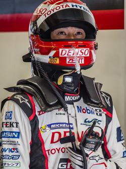#5 Toyota Racing Toyota TS050 Hybrid: Kazuki Nakajima ready for a last stint