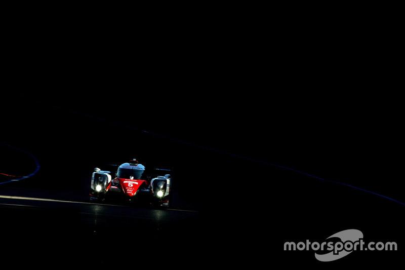 3. #5 Toyota Racing Toyota TS050 Hybrid: Anthony Davidson, Sébastien Buemi, Kazuki Nakajima