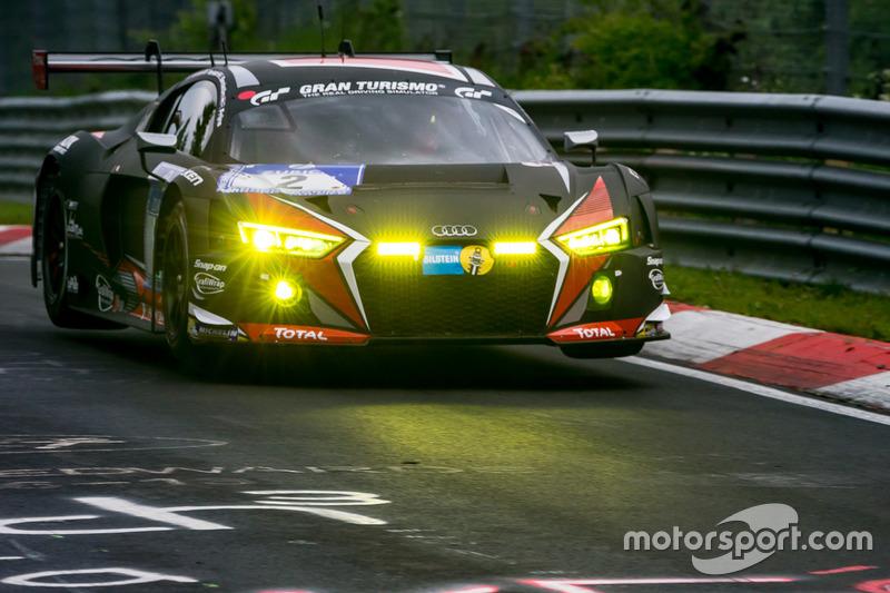 10. #2 Audi Sport Team WRT, Audi R8 LMS